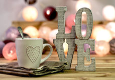 Love home interior decorating Royalty Free Stock Images