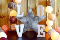 Love home interior decorating Royalty Free Stock Photos