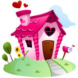 Love House Stock Photography