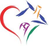 Love house heart Royalty Free Stock Photo