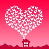 Love house Stock Photo