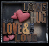 Love hug happy Royalty Free Stock Photo
