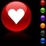 Love  icon. Stock Image
