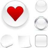 Love  icon. Royalty Free Stock Photos