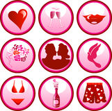 Love Icon Buttons Royalty Free Stock Photo