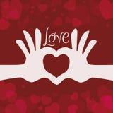 Love icon design Royalty Free Stock Photos