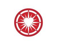Love icon logo vector stock illustration