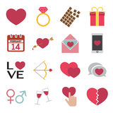 Love icon Stock Photography