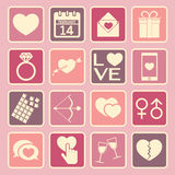 Love icon Royalty Free Stock Image