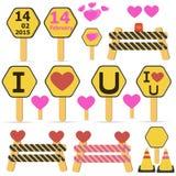 Love icon Stock Photo