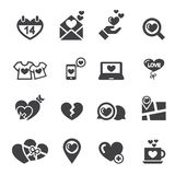 Love icon Royalty Free Stock Photos