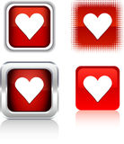 Love  icons. Stock Images