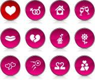 Love  icons. Stock Photos