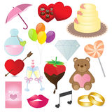 Love Icons Collection Royalty Free Stock Photography