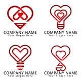 Love Idea Concept Logo Royalty Free Stock Image