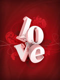 Love illustration Royalty Free Stock Photo