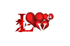 Love illustration Stock Photo