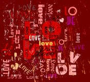 Love illustration Royalty Free Stock Photography