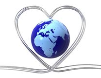 Love In Digital World Concept Royalty Free Stock Photo