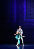 """Love incompetence- ballet """"One Thousand and One Nights"""" Royalty Free Stock Photography"""