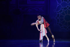 """Love is inextricably bogged down in- ballet """"One Thousand and One Nights"""" Royalty Free Stock Photography"""