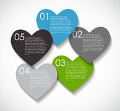 Love Infographic Templates for Business Vector Stock Photos