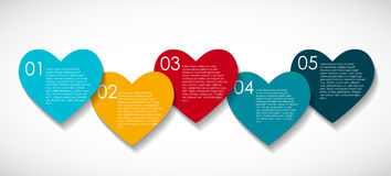 Love Infographic Templates for Business Vector Stock Photography