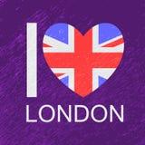 Love-02 inglés Imágenes de archivo libres de regalías