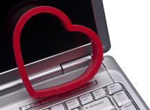 Love on the Internet Concept Stock Images