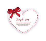 Love Invitation card Valentine day Stock Photography
