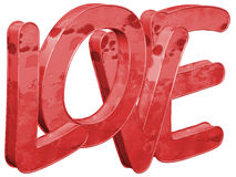 Love - isolated - 3D Stock Images
