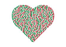 Love Italy Stock Photo