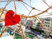 Love in Italy. Valentine in small village in italy Stock Images
