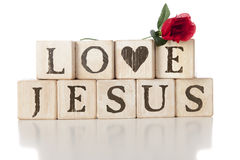 Love Jesus Royalty Free Stock Images