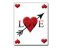 love karty Obrazy Royalty Free