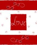 love karty Fotografia Stock