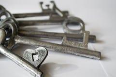 Love keys Royalty Free Stock Image