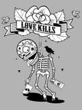 Love Kills Royalty Free Stock Photos