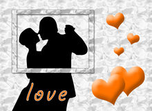 Love Kiss Stock Image