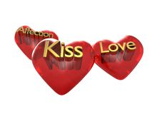 Love kiss and affection.jpg Royalty Free Stock Photo