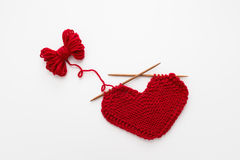Love Knitting Stock Image