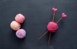 Love Knitting Royalty Free Stock Photos