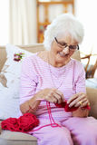 Love knitting Royalty Free Stock Image