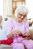 Love knitting Royalty Free Stock Image