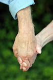 Love knows no age Royalty Free Stock Photos