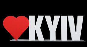 Love Kyiv Stock Image