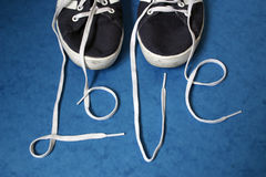 Love Laces Stock Photography