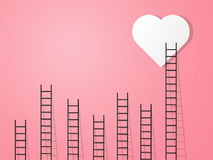 Love ladder Royalty Free Stock Image