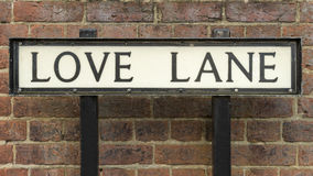 Love Lane Stock Images