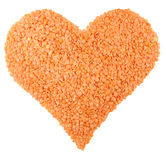 Love Lentils Stock Photos